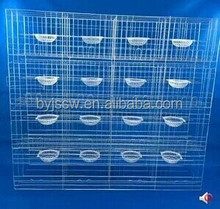 Layer Pigeon Cages of Low price in farm