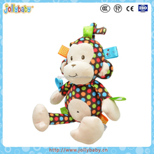 Dongguan Sozzy Plush Baby Crib Hanging Animals Toys With Music