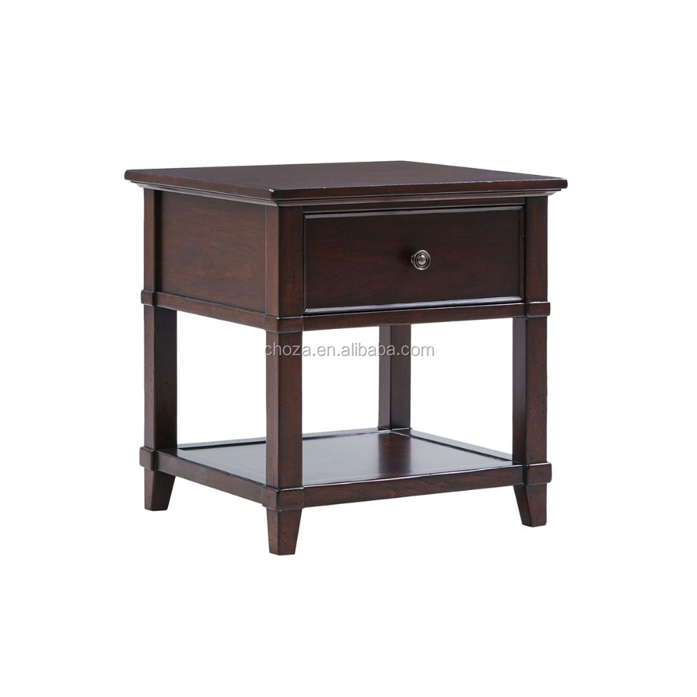 F40186A-1New design good quality simple wooden side table for bedroom