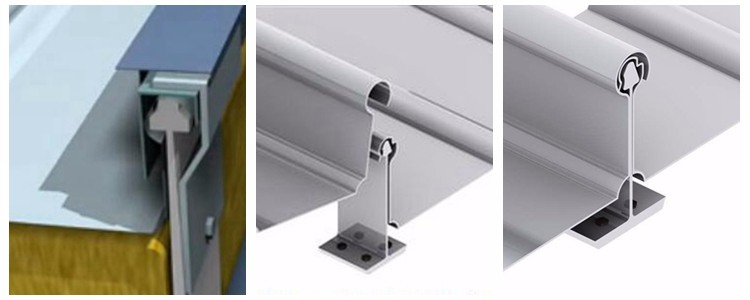 Long working life standing seam roof brackets