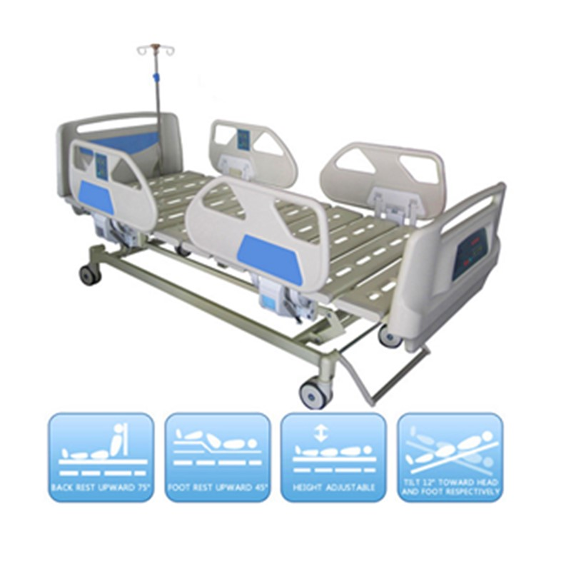 DW-BD102 Deluxe electric more funtion weighting hospital bed General ICU BED with functions high quality