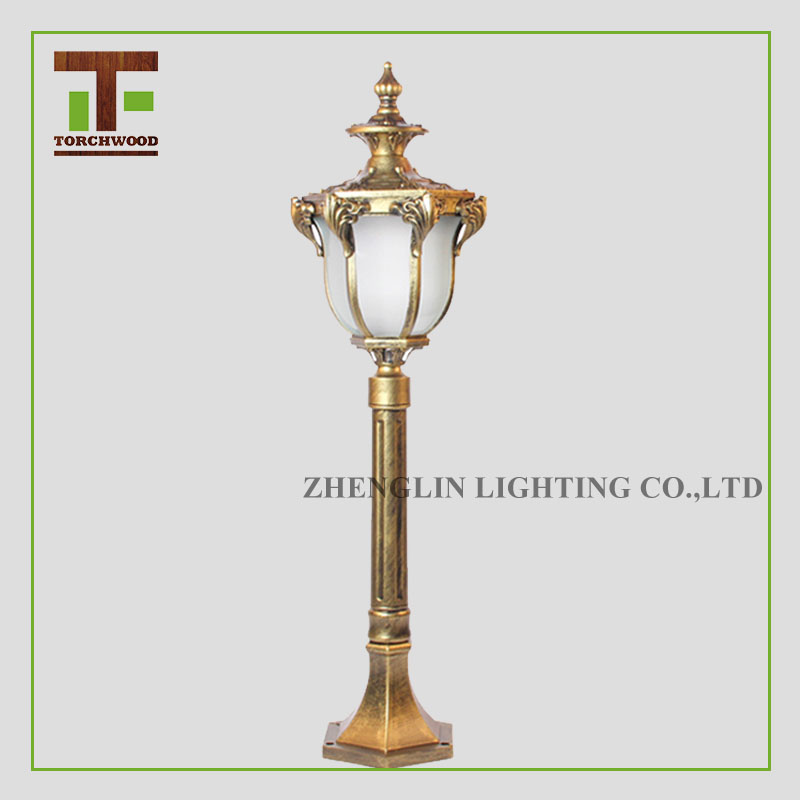 cheap hot selling outdoor lighting european style garden lamp post lights manufacturer