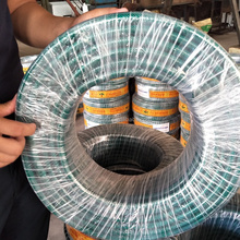 Factory Produce PVC Fiber Reinforced Hose Pipe / Braided Transparent Flexible PVC Garden Hose