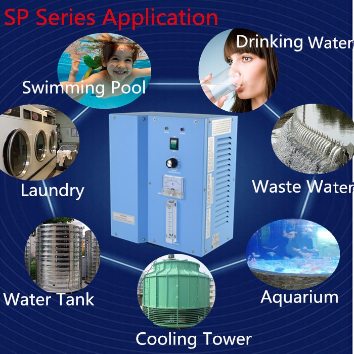 best selling 5g ozone generator for well water treatment ozone sterilizer