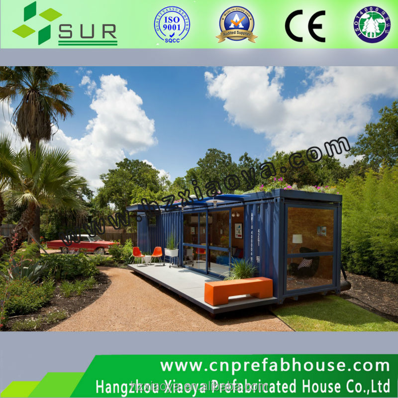 Container House with glass,prefab container house , container office home