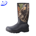Prompt Delivery Safety Item waterproof camo rubber hunting boots for men