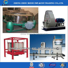 Hot selling stainless steel cassava starch production machine in India