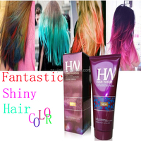 Msds Raw Meterial GMP Workshop Semi Permanent Crazy Color Hair Dye