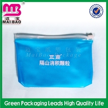european internal promotional round handle clear pvc plastic cosmetic bag