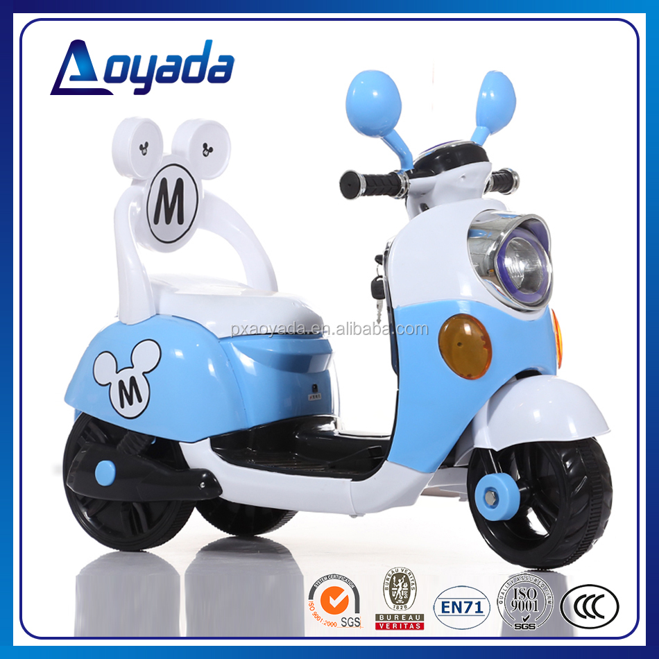 High quality electric motorbile kids/ children motorcycle electric/ 3 wheel battery operated motorbike