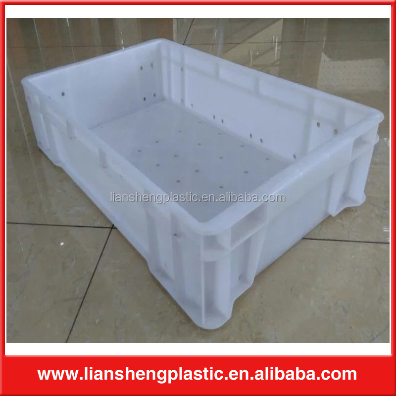 Light durable plastic fish container with holes supplier in malaysia