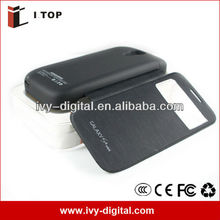 Backup battery case for samsung galaxy s4 mini i9190 rechargeable Battery Case