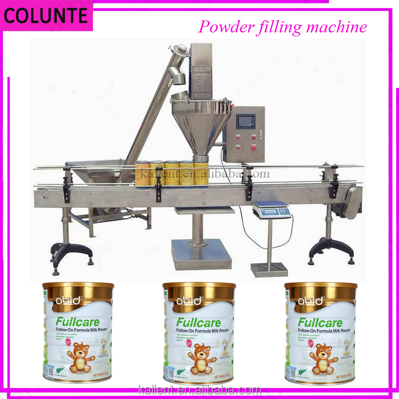 Automatic infant baby milk powder filling packing machine