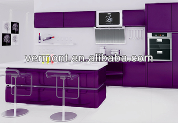 Purple Kitchen Cabinet For Project Fashionable Patterns