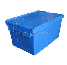 Industrial Nestable Plastic Storage Box for Package and Moving