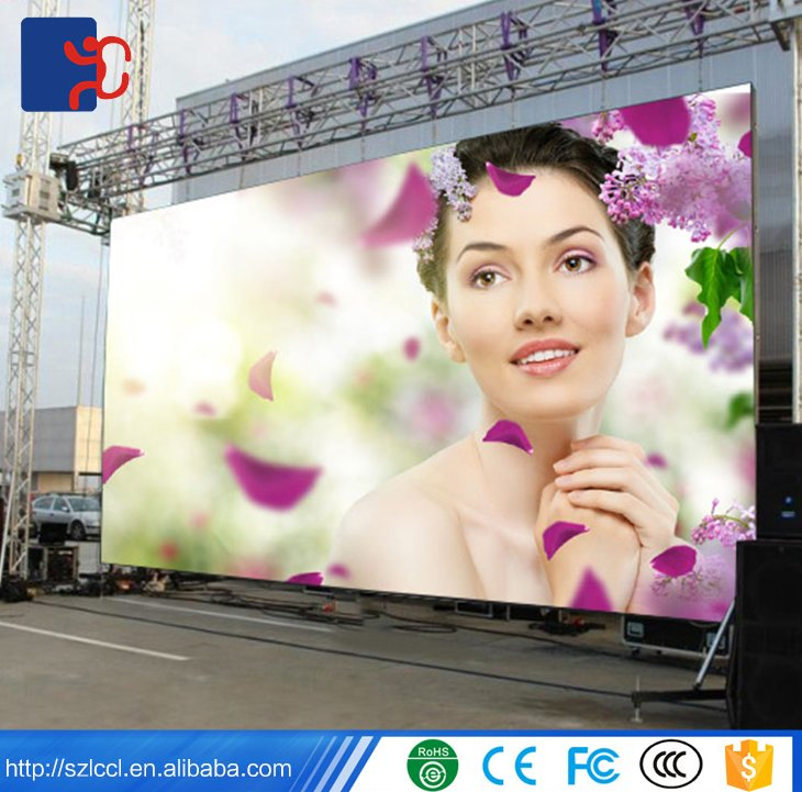High quality outdoor IP 65 advertising display board P5 P6 P8 P10 Rental led TV