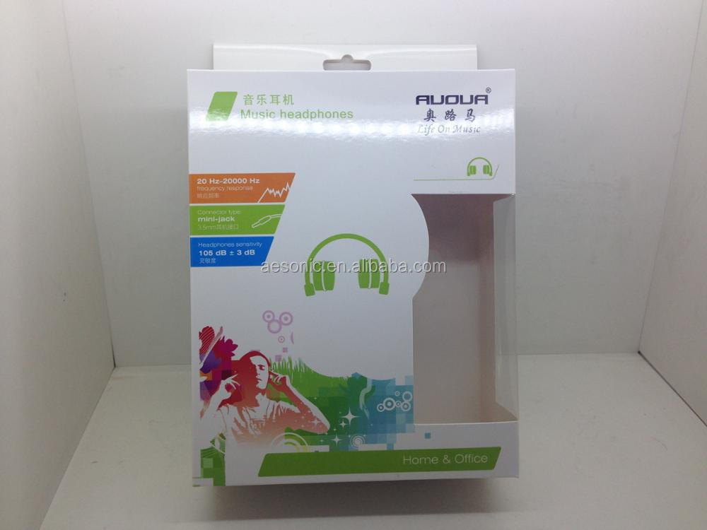 Promotional cheap wireless BT headphone with gift box