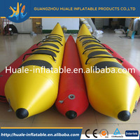 hot sale high quality inflatable kayak boat/ High quality hand made profrssional inflatable kayak sailing boat in China