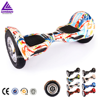 10 inch 2 wheel big wheel electric scooter self balancing for adults plastic shell electric scooter