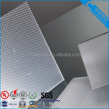 Sabic polycarbonate prismatic solid sheet/Prism plastic board