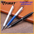 Promotional smart phone stylus ball pen multifunctional touch screen stylus pen for laptop