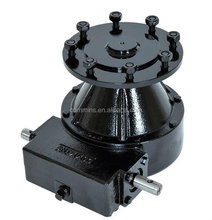 wheel worm gearbox for center pivot farm irrigation