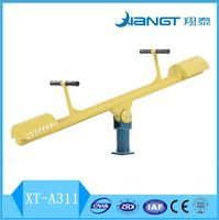 Outdoor Fitness Equipment For Child/Vertical seesaw/standing seesaw/Body Building Equipment XT-A311