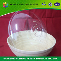Promotion advertising cheap plastic bowl with cover