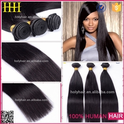 Accept paypal!Hotsale natural color silky straight wave jessica hair