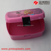 Plastic girls favourite children Lunch Box with lock