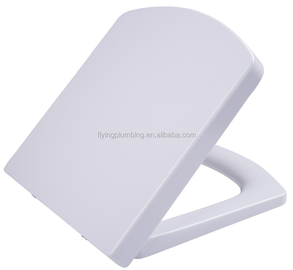WC square toilet seat bathroom toilet seat cover Euro D shape
