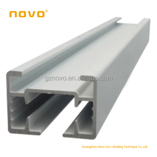 NOVO Aluminum electric curved motor 6-30m curtain track with reomte control/motorized curtain rail