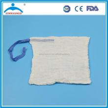 Medical lap sponges wound packing supplies