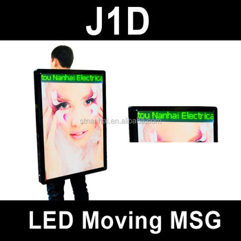 J1C-006 New media LED backlighting indoor advertisement board with high brightness
