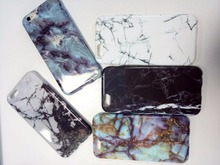 Marble Stone Image Painted Cover Mobile Bags light thin tpu phone case for iPhone7