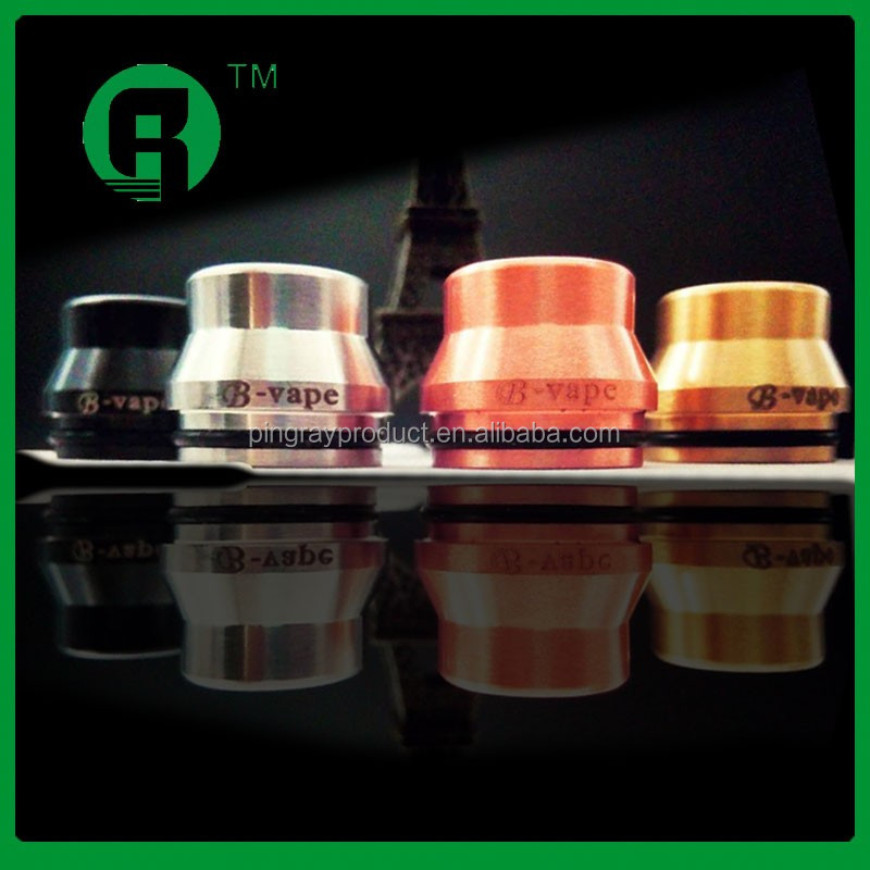 2016 china supplier copper/black/ss/brass 24mm summit drip tips