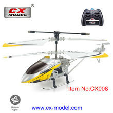 3.5 Channel alloy mini IR exquisite outlook steady indoor rc toys helicopter with gyro for kid