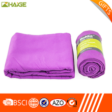 Best price of microfiber double sided velour promotional towel With Good Service