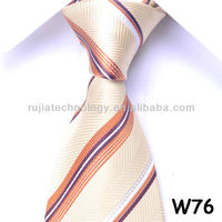 W76 silk woven tie necktie for men