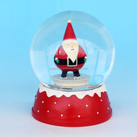 Christmas Santa Claus Snow Globe Best Gifts For Children