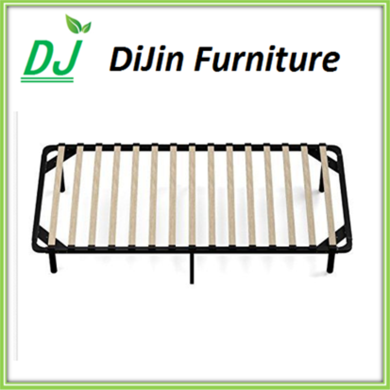 Dismounting metal/steel/Iron & wooden chop / slat bed frame bed base