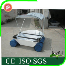China high quality cheap price water sport plastic rowing fishing boat portable boat for sale