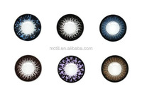 3 tones HEMA material colorful contact lenses for eyes