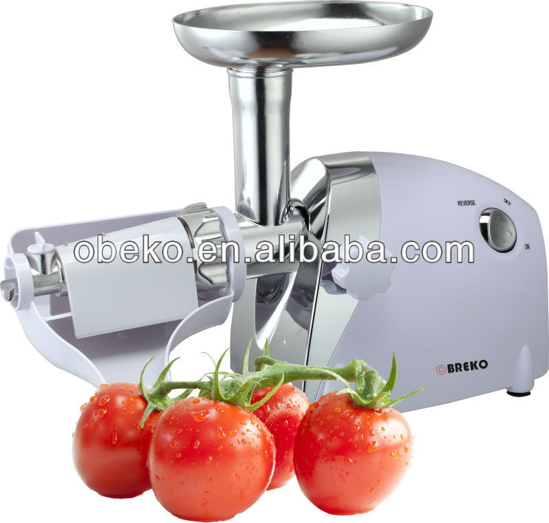 food grinder with tomato juicer,vegetable slicer