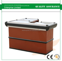 hot sale cash table shop wood counter cashier desk furniture
