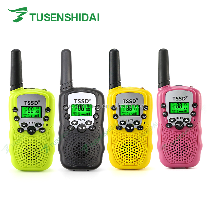 Children's radio UHF 446mhz 0.5w handy walkie talkie
