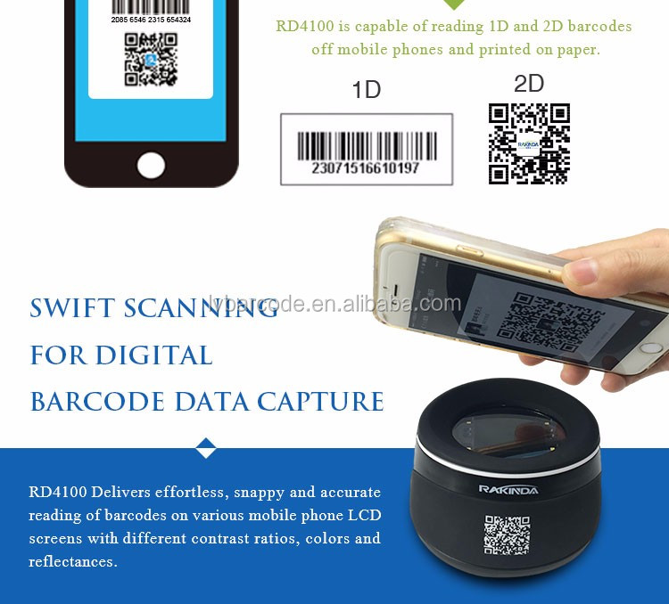 New Design Fixed Mount OEM Barcode Reader 2D Scan Engine Module Used For QR Code Ticket Validation