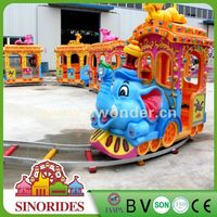 China Safari elephant amusement park electric train,Attractive Used Amusement Equipment