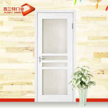 wholsale solid wood interior doors red walnut color