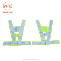 V shape Safety Vest in Reflective Safety Clothing /Reflective Safety Vest Belt